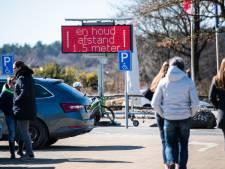 Politie: het wordt al druk op de Posbank, blijf thuis