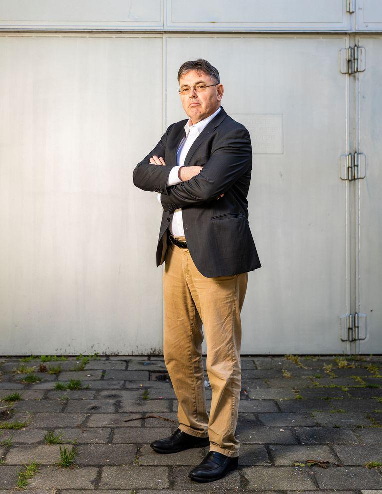 Derk Jan Eppink, lijsttrekker van het Forum voor Democratie te worden bij de Europese Parlementsverkiezingen. Beeld Jiri Büller