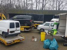 Zeven personen opgepakt bij Aaltense wietkwekerij met 1.190 planten