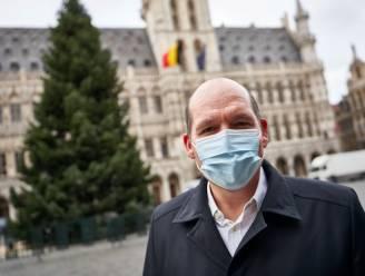 """Burgemeester Brussel: """"Er was geen klank- en lichtspektakel op Grote Markt"""""""