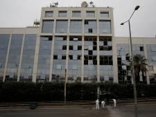 Zware explosie bij Griekse nieuwszender