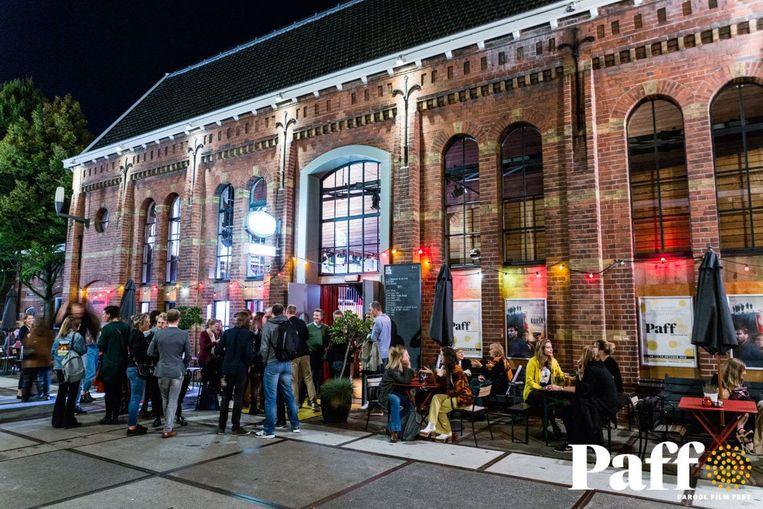 Parool Film Fest bij Het Ketelhuis. Beeld Jurre Rompa