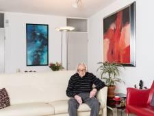Harry van der Wee maakte op zijn negentigste nog twintig grote schilderijen