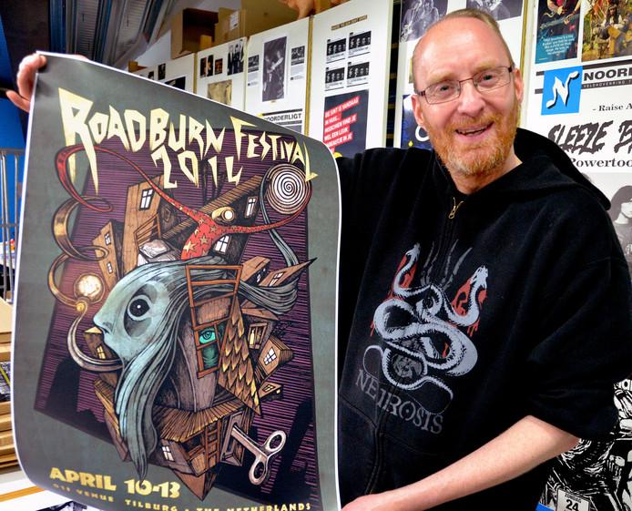 Walter Hoeijmakers is al twintig jaar artistiek directeur van Roadburn.