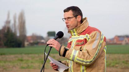 Kapitein Wouter Van Den Broeck wordt nieuwe zonecommandant bij brandweerzone Oost