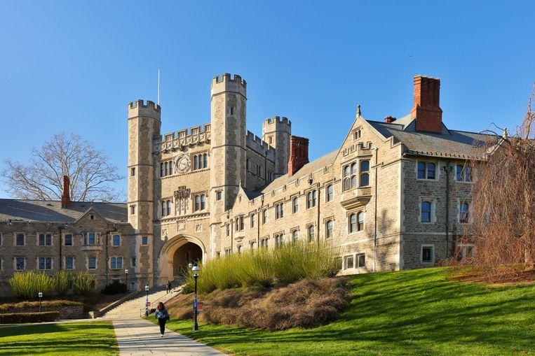 Princeton University in New Jersey.