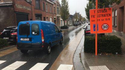 """""""Informeer chauffeurs over fietsstraten"""""""