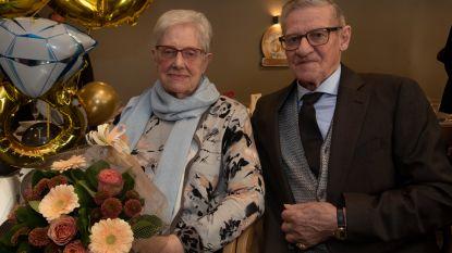 André en Henriette 60 jaar gehuwd