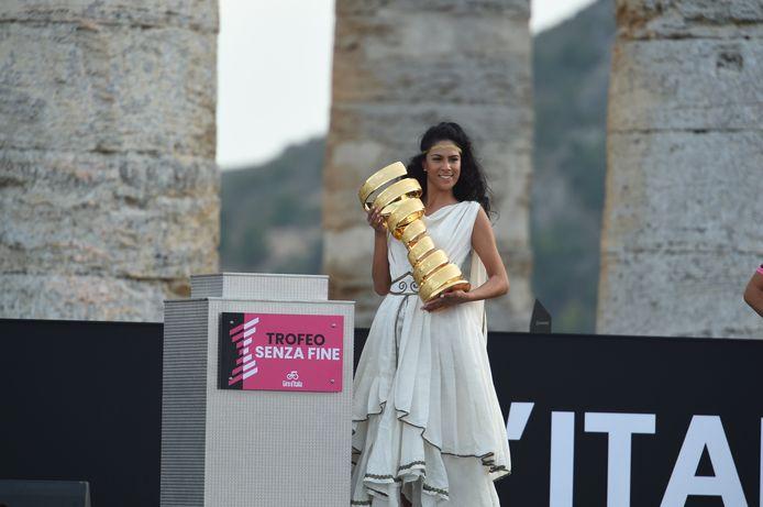 De Giro-presentatie.