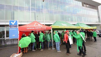 Actie bij Vinçotte tegen ontslag vakbondsman