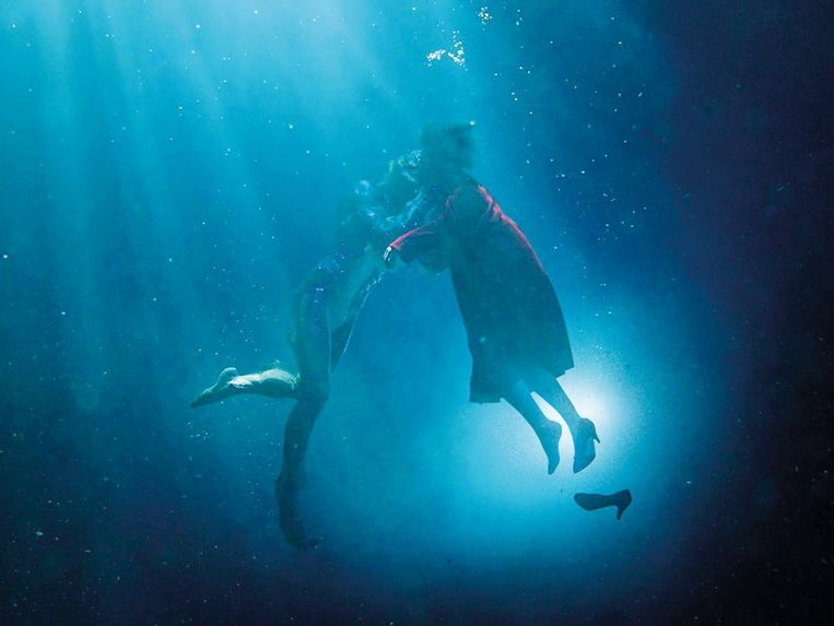 Een still uit de film 'The Shape of Water'.