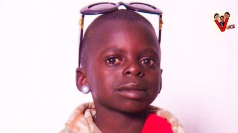 De 6-jarige Darcy Irakoze, beter bekend als YouTuber Kacaman.