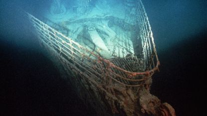 """Kleine duikboot botst tegen wrak Titanic: """"Het gebeurde per ongeluk"""""""