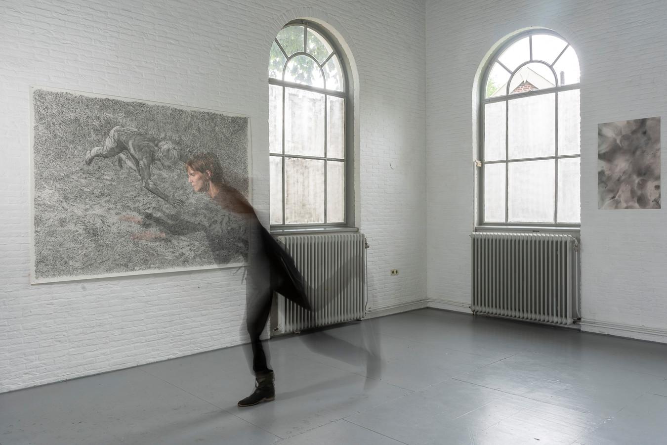 Haamstede, kunstenaar, Femke Gerestein, Bewaerschole, expositie, verslaggever Esme Soesman