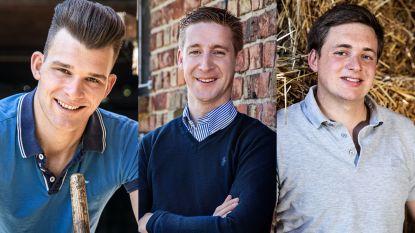 Maak kennis met de drie nieuwe kandidaten van 'Boer Zkt Vrouw: Home Sweet Home'