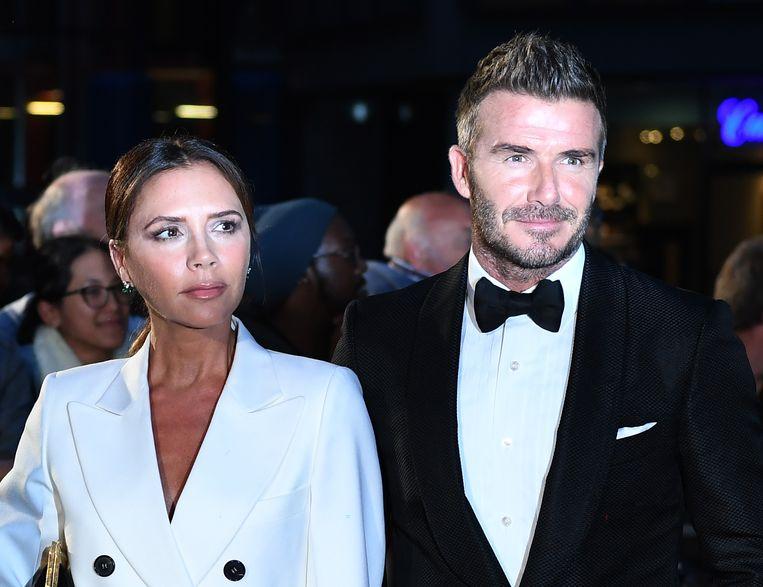 David Beckham en Victoria