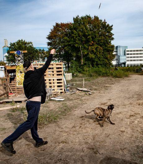 Strijd om Nijmeegs krakerskampje: 'Wij leven anders dan mensen gewend zijn'
