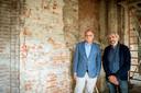 EINDHOVEN - Transformatie Marienhage Architekt Bert Dirrix (rechts) en DELA directeur Edzo Doeve