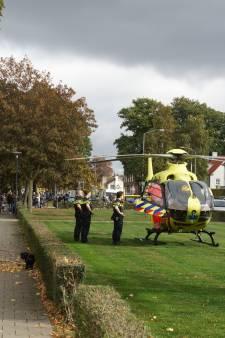 Commotie in woonwijk Waalwijk: traumaheli landt vanwege ernstige insectenbeet
