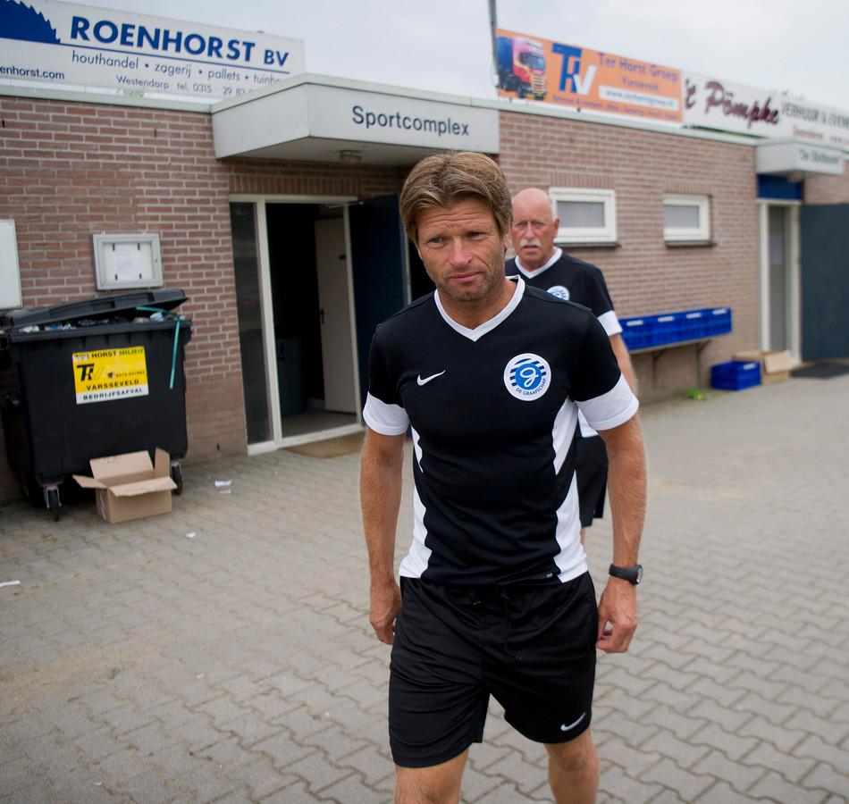 Jong De Graafschap-trainer Jan Vreman.