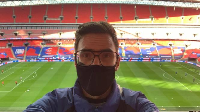 """Sfeerverslag – nu ja – van onze man in Engeland: """"Weg Wembley-magie. Nooit zijn we zó snel weg geweest"""""""