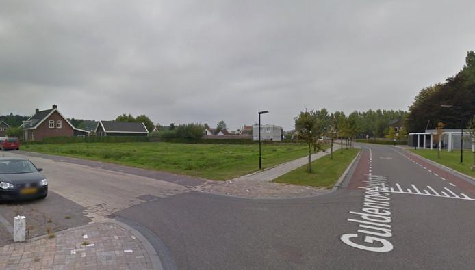 De plek van de nieuwe kazerne in Heinkenszand.
