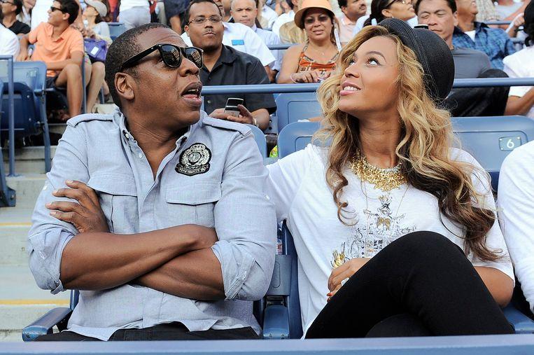 Super Bowl: Jay-Z en echtgenote Beyoncé .