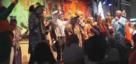 Vliegbasis Gilze-Rijen overgenomen door carnavaleske invasie