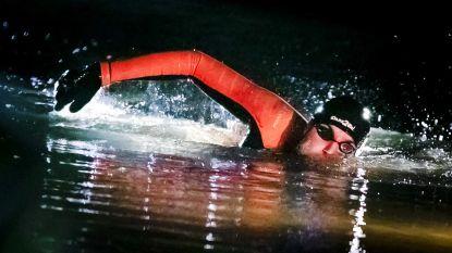 Haalt hij de finish of haalt hij ze niet? Olympisch kampioen en ex-leukemiepatiënt zwemt 200 km van Elfstedentocht voor goede doel