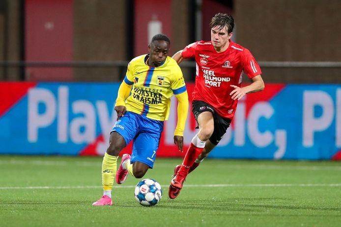 Helmond Sport pikte rechtsback Boyd Reith bij Sparta op.