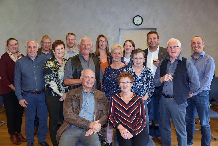 gouden jubileum Dirk Vercauteren en Maria José Pauwels Steenokkerzeel