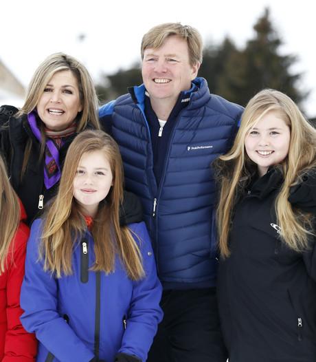 Koninklijke familie geniet in Oostenrijkse Lech