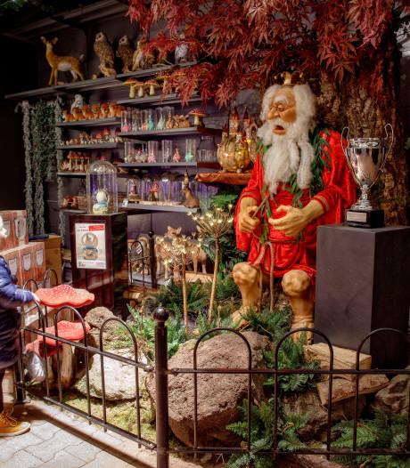 Kerstshows tussen de kamerplanten: 'Hoezo over de top?'