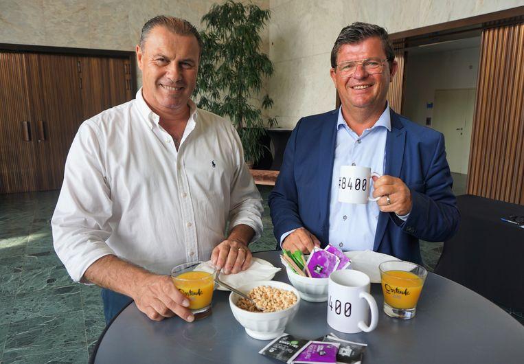 Het Sociaal Fonds van de Burgemeester, hier met Jo Dielman en burgemeester Bart Tommelein (Open Vld), organiseert voor het eerst in jaren opnieuw een ontbijt voor het goede doel.