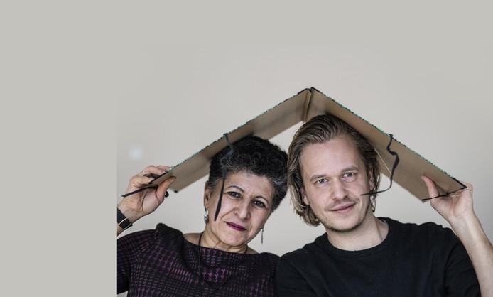 Amal Karam en Wout Waanders