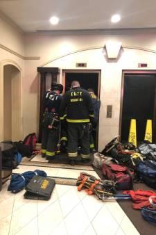 Flatbewoner New York vermorzeld door vallende lift in superdeluxe woontoren