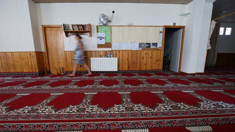 De moskee in Ripoll waar het vermoedelijke brein achter de aanslag in Barcelona preekte.