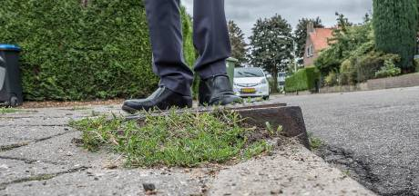 Herstellen trottoirs in Berg en Dal wordt dure kwestie