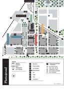 De plattegrond van Leidsche Rijn Centrum