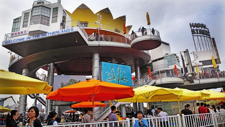 De wereldtentoonstelling in Shanghai. Foto ANP Beeld anp