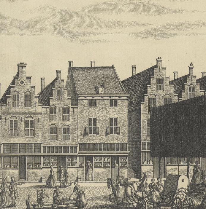Beeld ter illustratie: Huis Mechelen op de Markt in Delft, het woonhuis van Johannes Vermeer hangt bij het Vermeer Centrum in Delft.