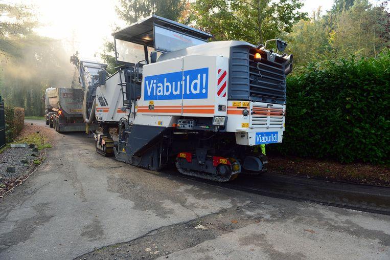 Het Spetstraatje, Pleinkensstraat en Neerstraat (niet op foto) krijgen een nieuwe asfaltlaag.