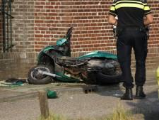 Man gewond bij ongeluk met motorscooter in Oeffelt