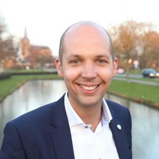 De Kamper wethouder Geert Meijering.