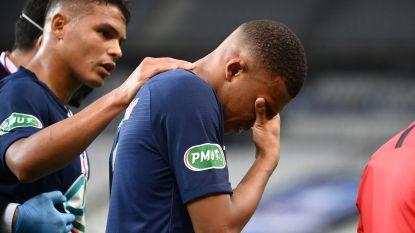 Mbappé is drie weken out na trap op enkel en mist zo kwartfinale Champions League tegen Atalanta