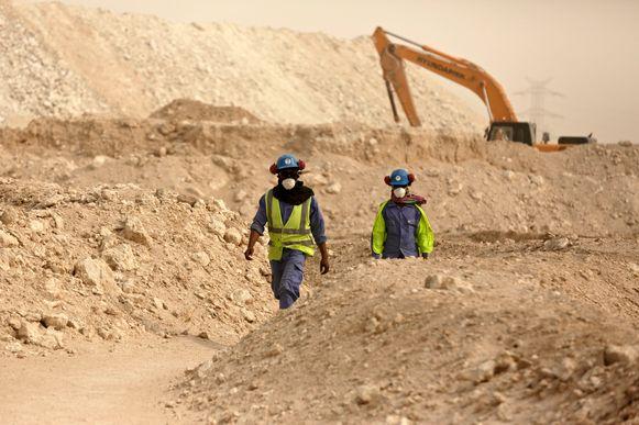 Qatar kwam onder andere onder vuur te liggen wegens de uitbuiting van werknemers tijdens de bouw van de WK-stadions voor 2022.