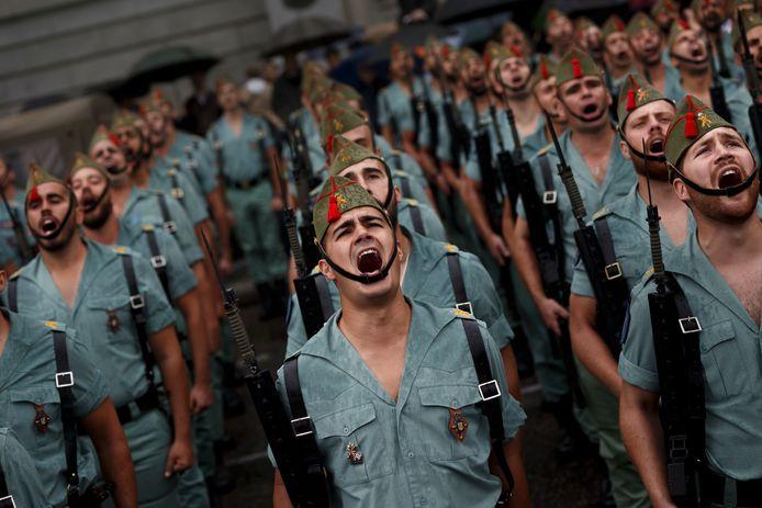 Het Spaanse Legioen staat bekend als de elite van het leger.