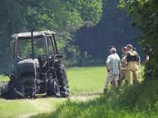 Tractor in Elsendorp uitgebrand