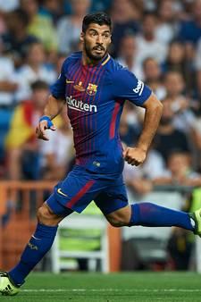 Problemen Barça verergeren: Suárez vijf weken aan de kant met knieblessure