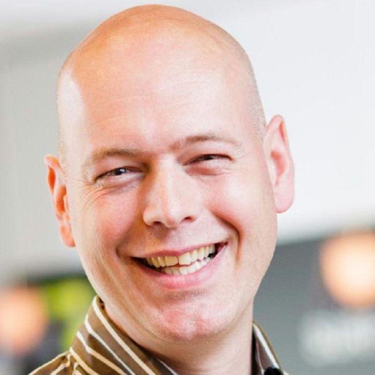 Rob van Nieuwpoort, bijzonder hoogleraar efficient computing, Universiteit van Amsterdam. Beeld